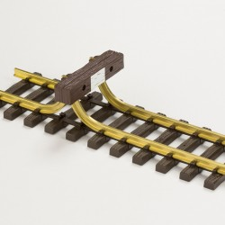 Buffer stop rail